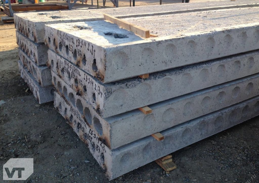 бетонная плита 5 метров