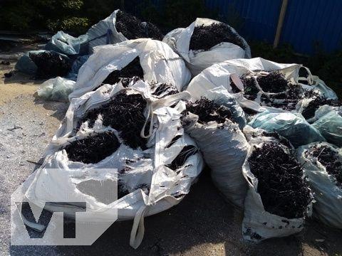 Отходы пластика ПВХ